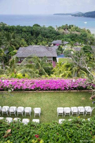 Wedding destination at Andara resort and Villas